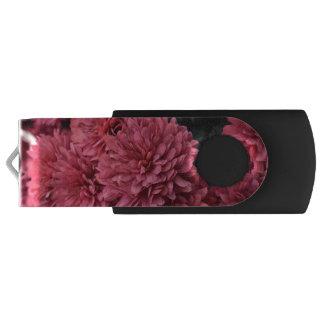 Clé USB commande rose d'usb de fleur