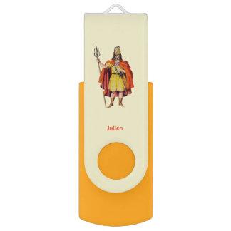 Clé USB COSTUME antique de Britannique ~Personalised pour