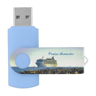 Clé USB Croisière après les jetées