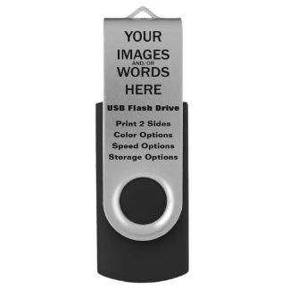 Clé USB Do-it-yourself - Noir d'entraînement d'instantané