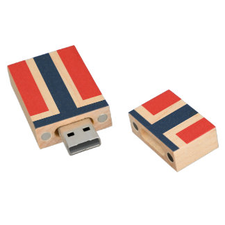 Clé USB Drapeau de la Norvège