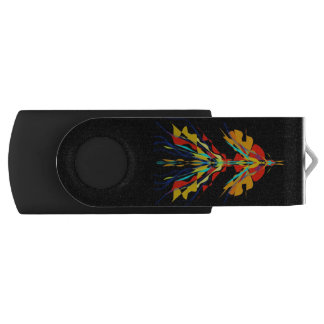 Clé USB Firebird sur le noir