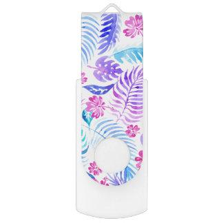 Clé USB Fleurs exotiques
