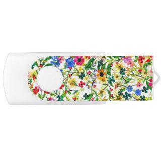Clé USB Fleurs florales de ressort coloré mignon
