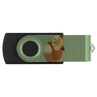 Clé USB Fox mignon d'automne