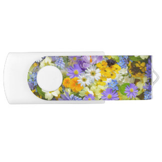 Clé USB Fracas de fleur de ressort