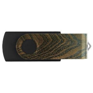 Clé USB Grain en bois riche classique