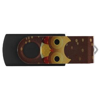 Clé USB Hibou adorable d'automne
