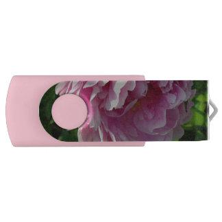 Clé USB Jardin rose de pivoine