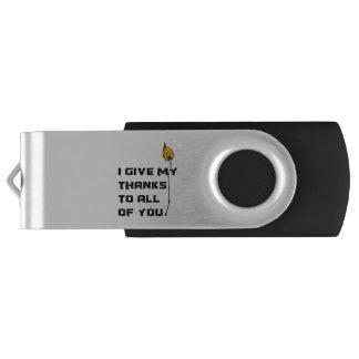 Clé USB Je donne mes mercis à tous les vous