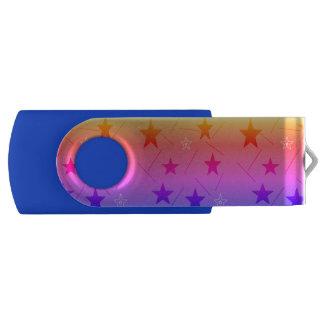Clé USB l'arc-en-ciel tient le premier rôle le bâton d'USB