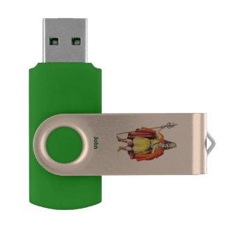Clé USB le COSTUME antique de Britannique de ~