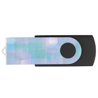 Clé USB Lignes géométriques en pastel commande