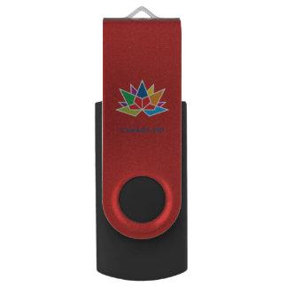 Clé USB Logo de fonctionnaire du Canada 150 - multicolore