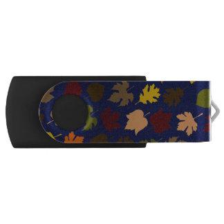 Clé USB Motif de feuille d'automne