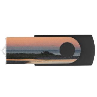 Clé USB Plage paisible au coucher du soleil