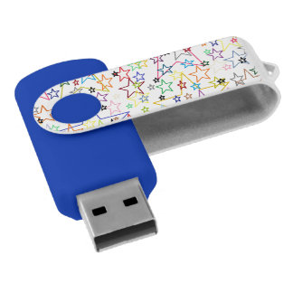 Clé USB Voyant l'éclair d'USB d'étoiles conduire