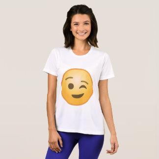 Cligner de l'oeil Emoji T-shirt