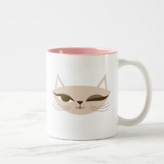 Cligner de l'oeil la tasse de Kitty