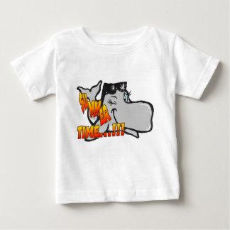 Cligner de l'oeil le T-shirt de bébé de baleine