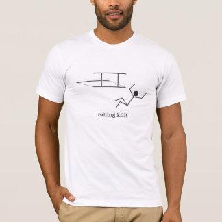clôture de la mise à mort ! le T-shirt des hommes