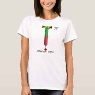 Clou de la Jamaïque Pâques et T-shirt de sang