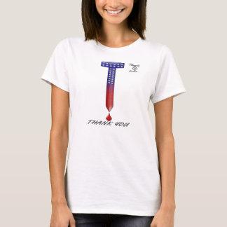 Clou des Etats-Unis Pâques et T-shirt court de