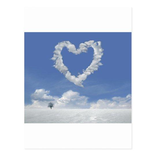 clouds-of-love postcard carte postale