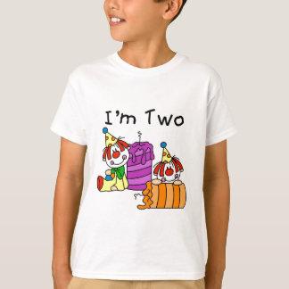 Clowns et bougies de 2èmes T-shirts et cadeaux