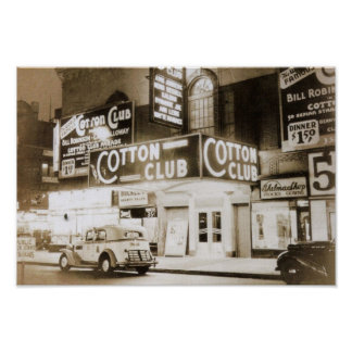 Club de coton, cru de New York City Poster