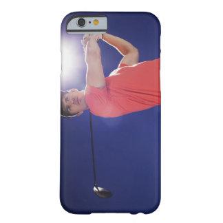 Club de oscillation de joueur de golf coque iPhone 6 barely there