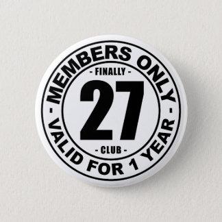 Club enfin 27 badge rond 5 cm