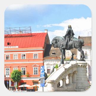 Cluj Napoca, Roumanie Sticker Carré