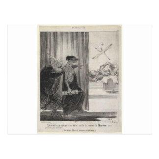 Clytemnestra a poussé par Mimi Veron (Rachel) Carte Postale