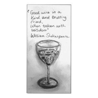 CobaltMoonDesign, bon vin, panneau de mur