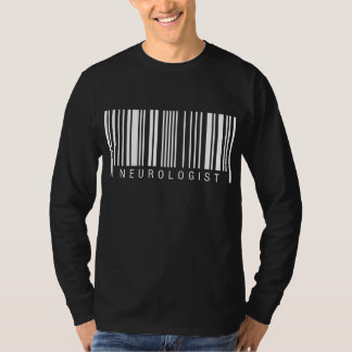 Code barres de neurologue t-shirt