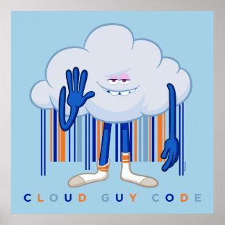 Code de type de nuage de Trolls| Poster