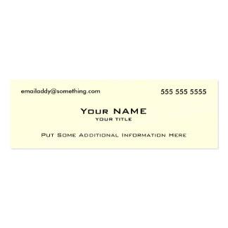 Code moderne du blanc QR Cartes De Visite Professionnelles
