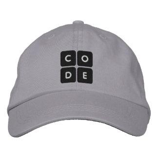 Code.org a brodé le chapeau casquette brodée
