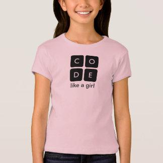 """Code.org """"code le T-shirt d'un enfant aiment"""