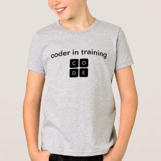 """Code.org """"codeur dans le T-shirt de l'enfant de"""