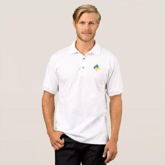 Codeur pur de python - geek dans le T-shirts