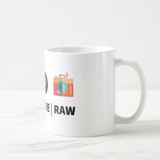 Codez le noyau cru - pour le geek créatif mug blanc