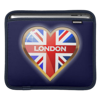 Coeur anglais housse iPad