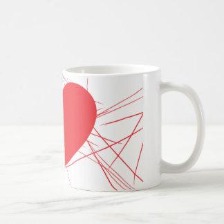 coeur brisé mug