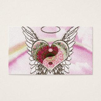 Coeur commémoratif de la carte   Yin Yang