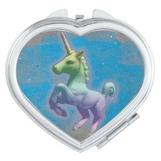 Coeur compact de miroir de licorne (nébuleuse