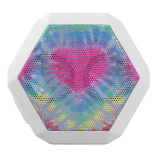 coeur d'arc-en-ciel de REX de boombot de colorant Haut-parleurs Blancs Sans-fils
