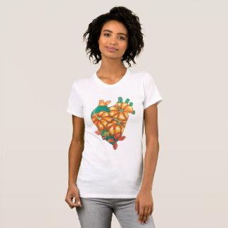 coeur d'automne t-shirt