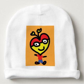 coeur de ballot de bébé bonnet pour bébé